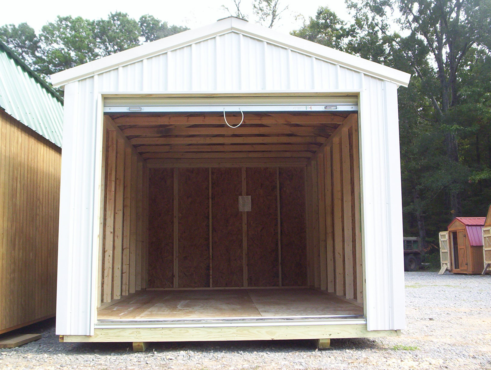 Premium lawn and garden storage shed davis portable for Garden and storage sheds