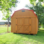 12' X 24' Lofted Barn 3