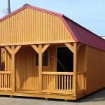 14' X 36 Lofted Barn Cabin