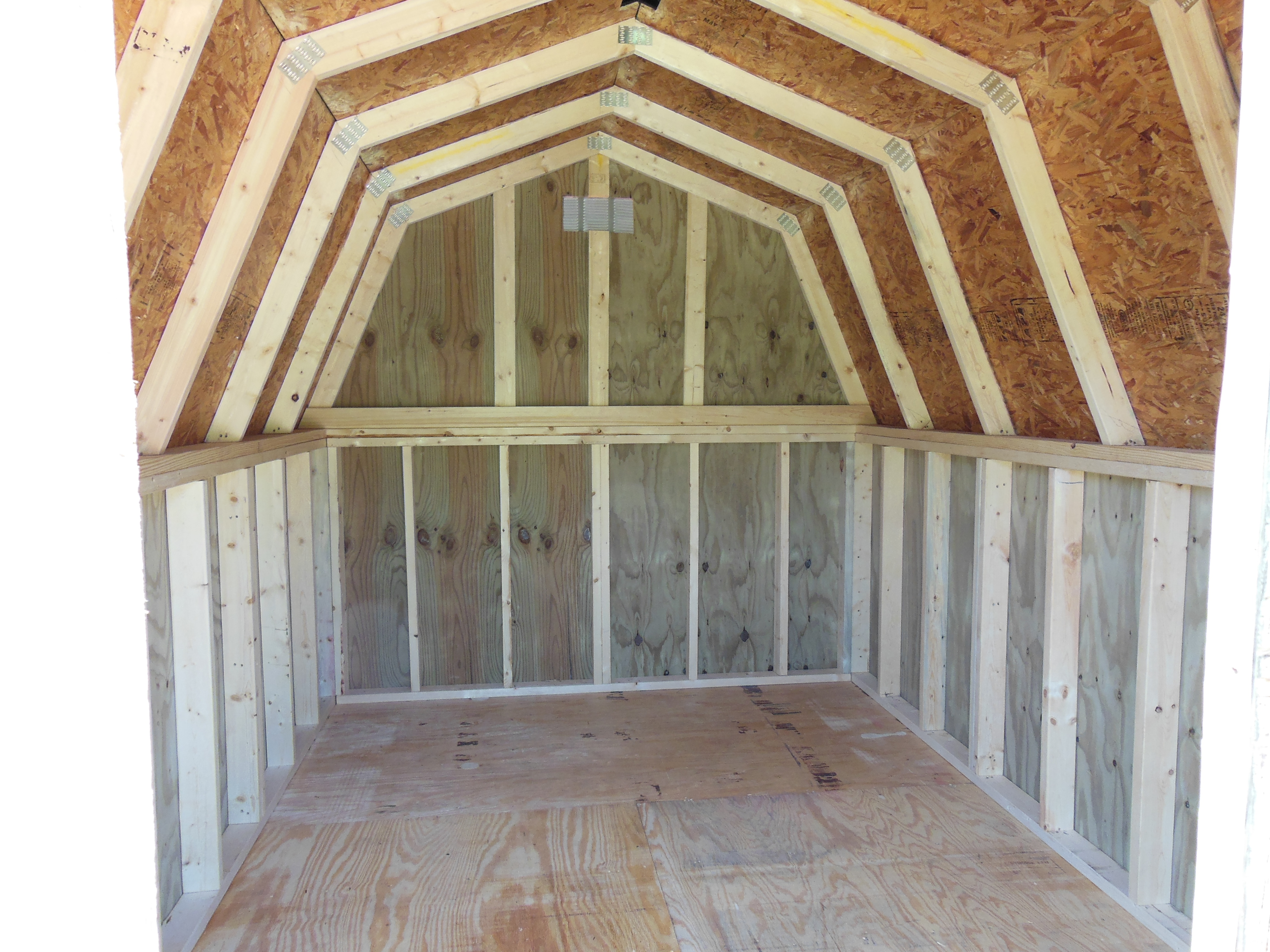 ***WE DO Use Pressure Treated Materials As A Standard Building Feature On  All Of Our Quality Made Portable Buildings, Except For Flooring***