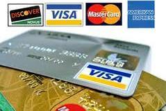 Visa, Master Card, Amex, Discover Logo