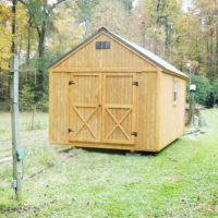 Lofted Utility Portable Storage Building